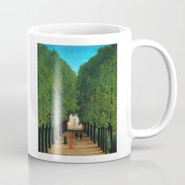 Henri Rousseau - Avenue in the Park at Saint Cloud Coffee Mug