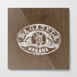 Smoke La Gazela Habana Metal Print