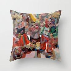 Hummel Funnel Throw Pillow