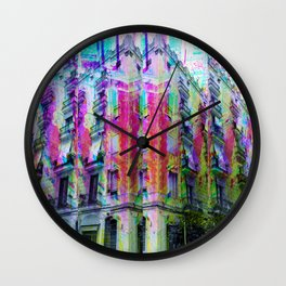 Sunday 26 May 2013: When you pass through remember to recall the view. Wall Clock