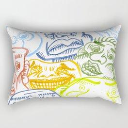 Shady Rectangular Pillow
