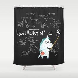 Unicorn = real Shower Curtain