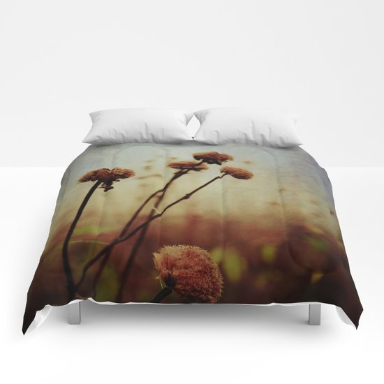One Winter Day Comforters