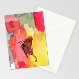Colors-fly  Stationery Cards
