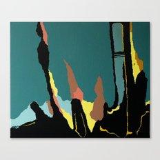 Ciclyin' Canvas Print