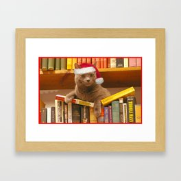 Happy Holidays from Hodge Framed Art Print