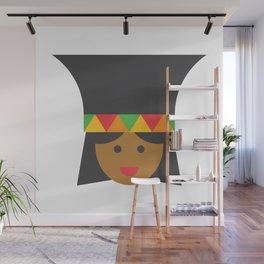 a zulú woman Wall Mural
