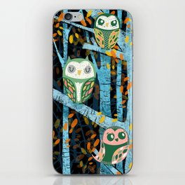 Overnight Owl Conference iPhone Skin