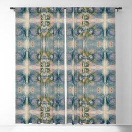 Blossom Pattern Blackout Curtain