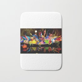AllenbyArt Artistic glass boats Landscape Scenery of Marvelous and Colorful Objects, Photography,  Bath Mat