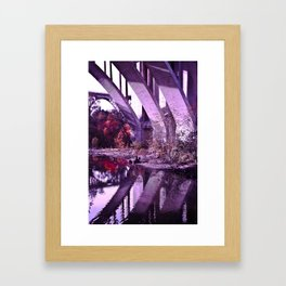 Reflections of Fall Framed Art Print
