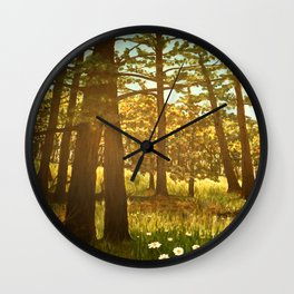Autumn Greer Wall Clock