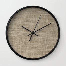 Gunny cloth Wall Clock