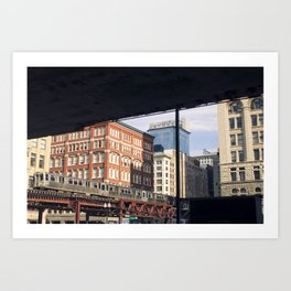 Chicago in the A.M. Art Print