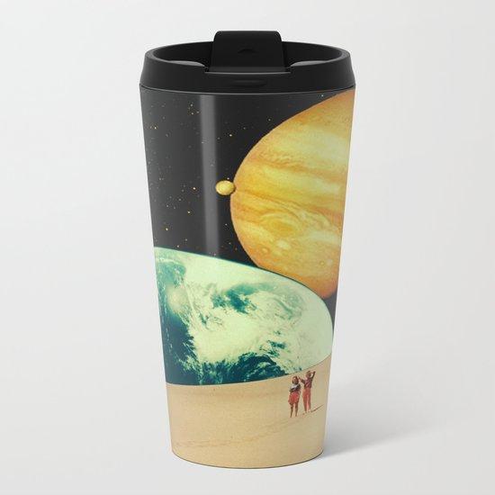 Sand Metal Travel Mug