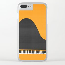 Grand Piano Clear iPhone Case