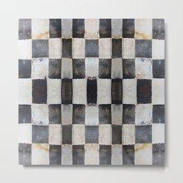 Checkers Metal Print