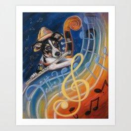 Jazz to the Bone Art Print