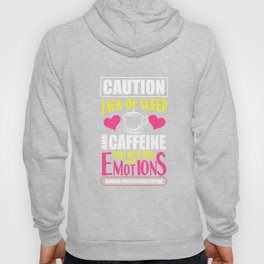 coffee caffeine emotions women mothers gift Hoody