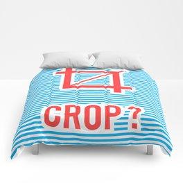 Crop ? Comforters