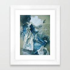 ^w^ Framed Art Print