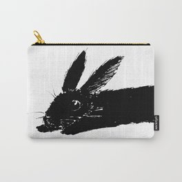 Bunny Sploot Carry-All Pouch
