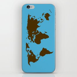 World Map iPhone Skin