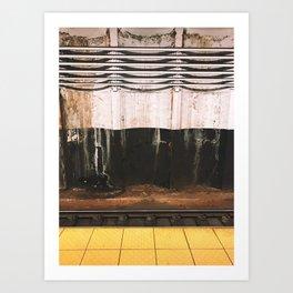 broad street line filth Art Print