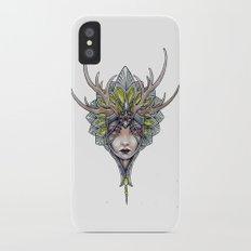 crowned girl Slim Case iPhone X