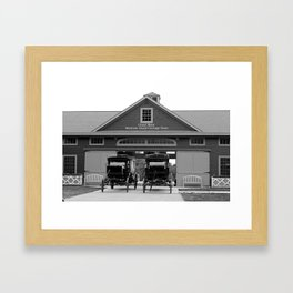 Grand Carriages I Framed Art Print