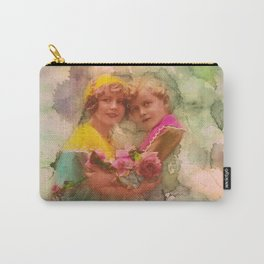 Vintage childhood of the last century Carry-All Pouch