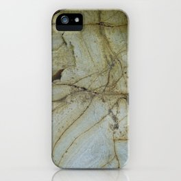 Textures of Gwithian iPhone Case
