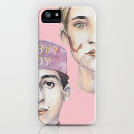 Agatha and Zero iPhone Case