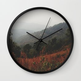 Whispering Wind Wall Clock