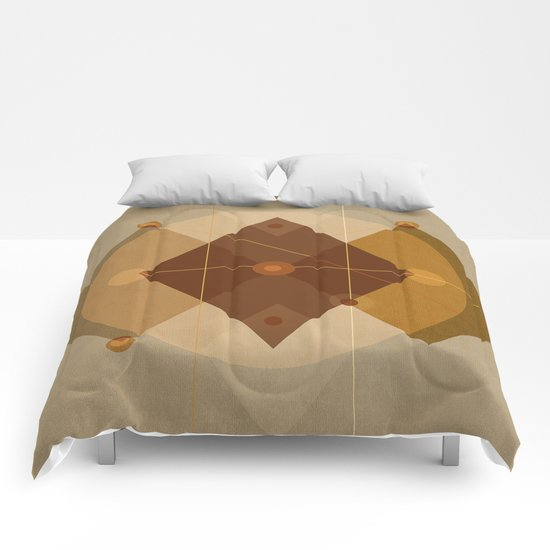 Geometric/Abstract 9 Comforters