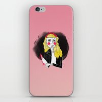 50s iPhone & iPod Skins featuring 50s Rebel by Rebecca Span