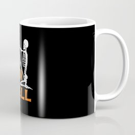 Yoga Halloween Yogaween Skeleton Coffee Mug