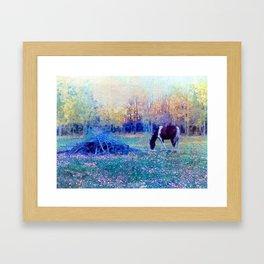 Fall at the Ranch Framed Art Print