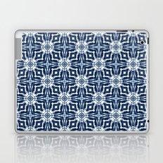 Watercolor Shibori Indigo Laptop & iPad Skin
