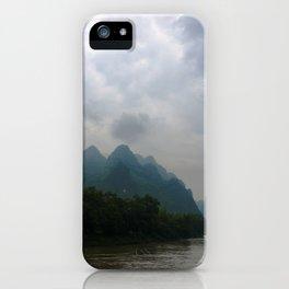 Li River in the Rain iPhone Case