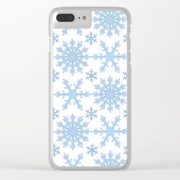 Let it Snow Mix 1 Clear iPhone Case