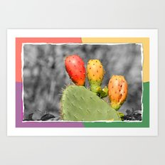 Three Spiky Ones Art Print