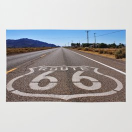 Historic Route 66 Rug
