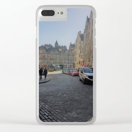 Down the lane Clear iPhone Case