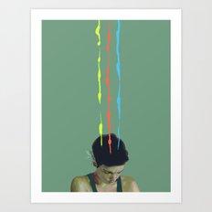 Ooze Art Print