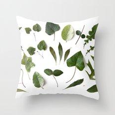HERBARIUM Throw Pillow