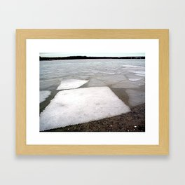 Breakup Framed Art Print