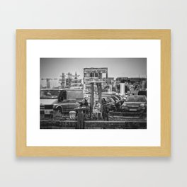 The perfect spot... Framed Art Print