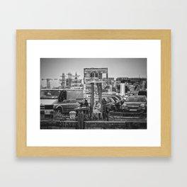 The perfect spot... Framed Art Print