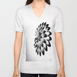 Urban Flower Unisex V-Neck